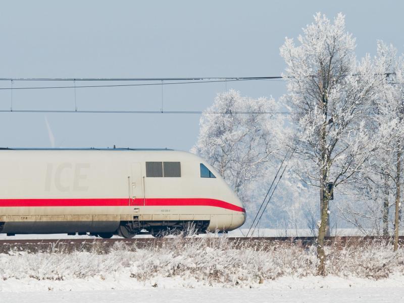 Bild zu Deutschen Bahn im Winter