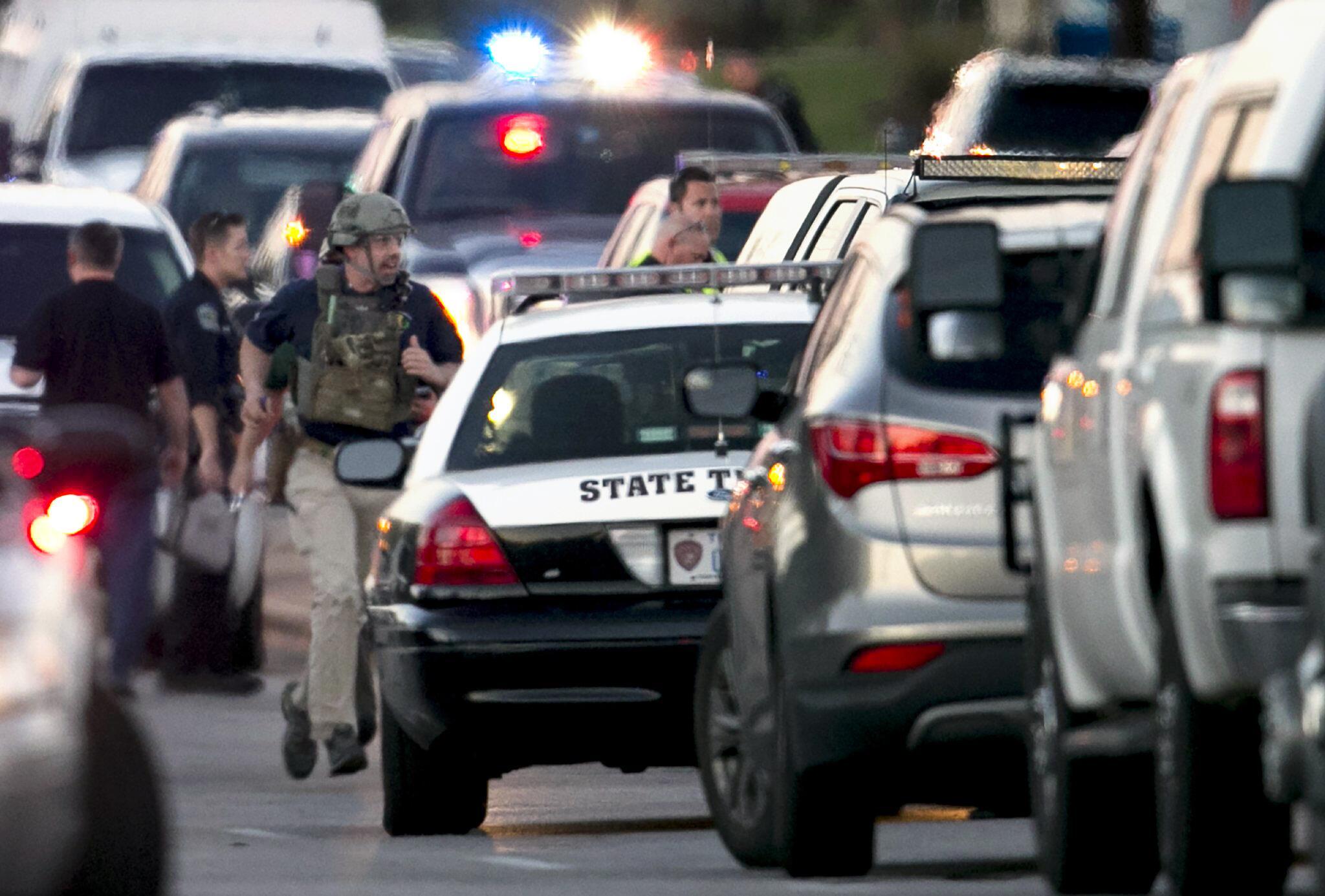 Bild zu Paket explodiert in Texas