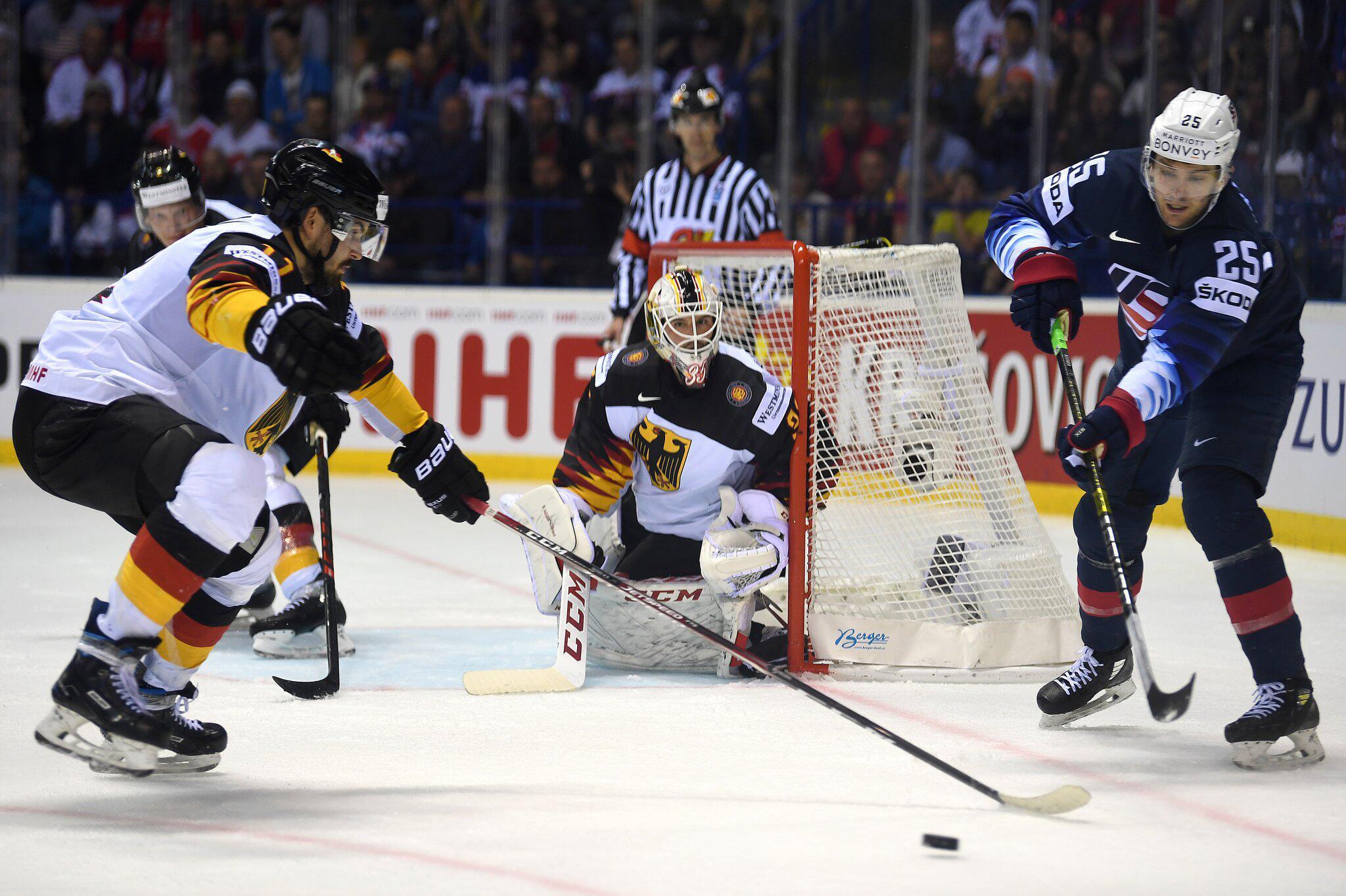 Bild zu Eishockey WM: Deutschland - USA