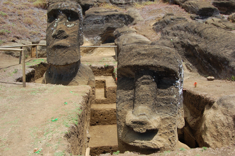 Bild zu Moai