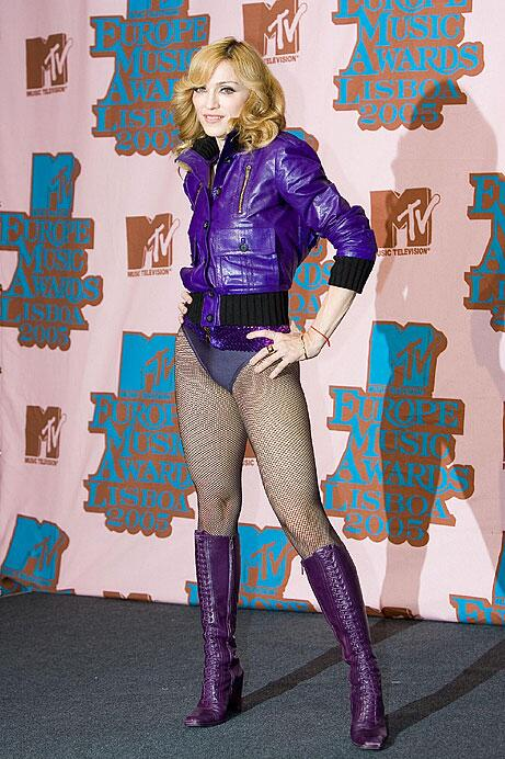Bild zu Madonna bei den MTV European Music Awards 2005