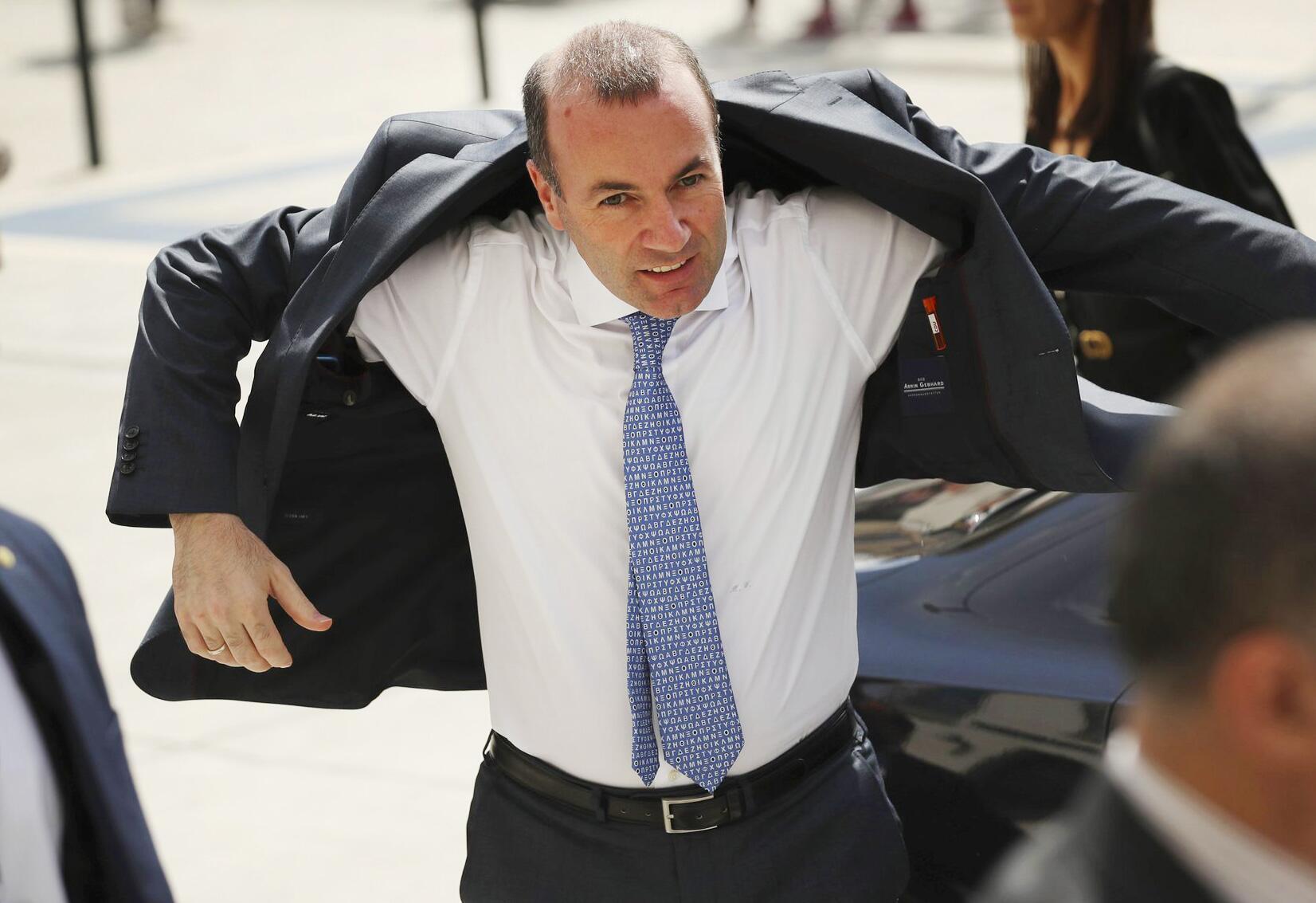 Bild zu EVP-Spitzenkandidat Manfred Weber