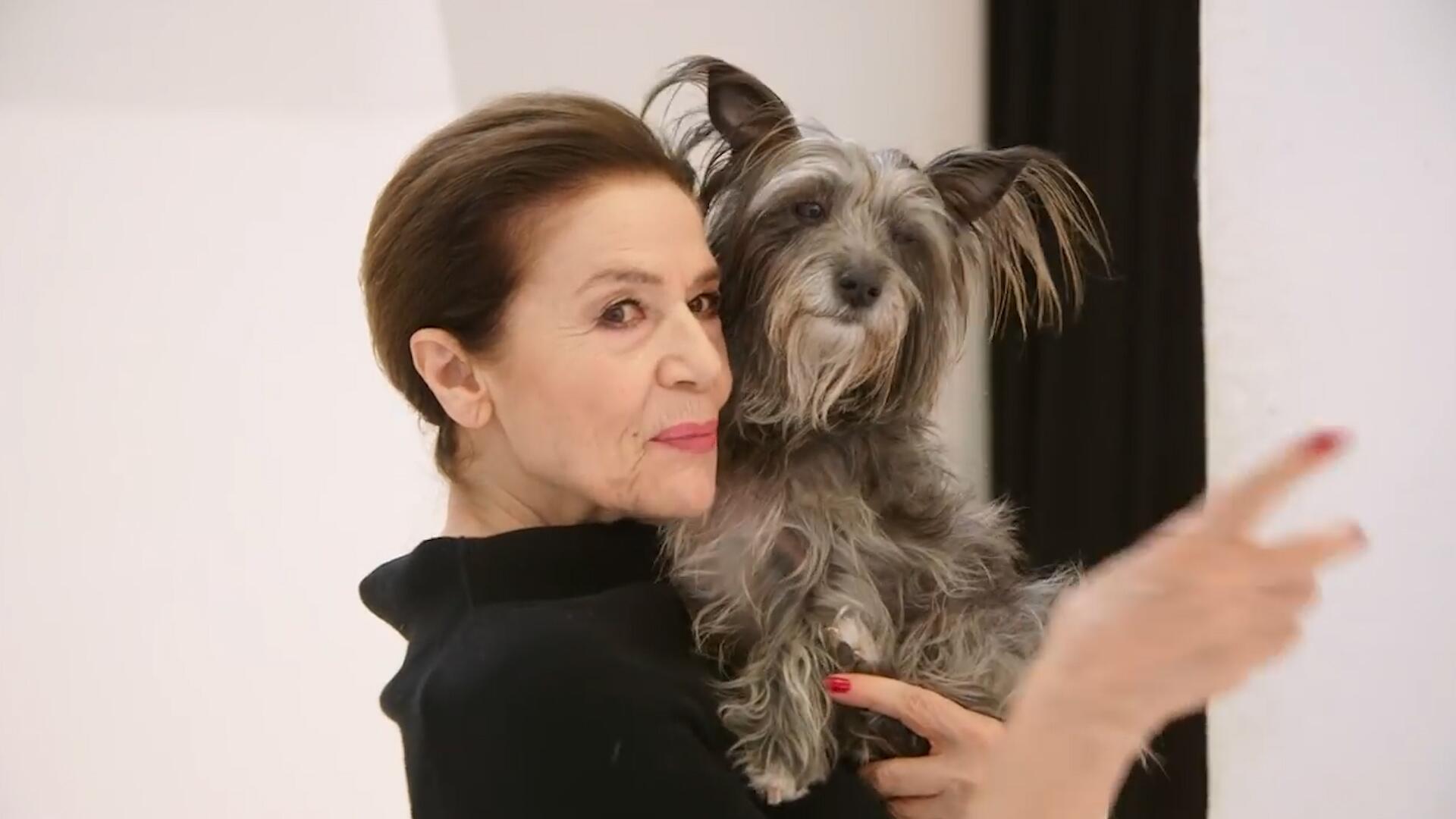 Bild zu Hannelore Elsner für Peta: So trägt man Pelz!