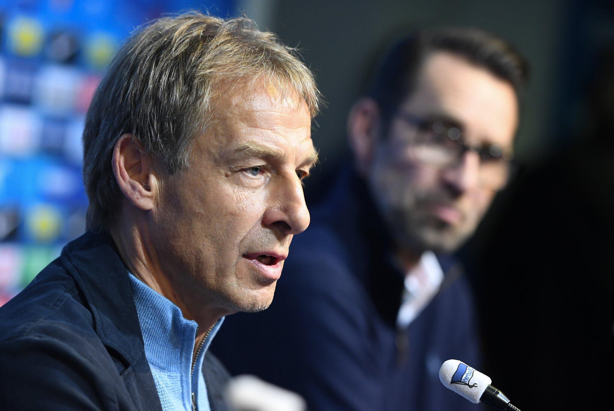 Bild zu Jürgen Klinsmann und Michael Preetz