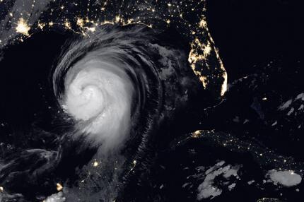 """Hurrikan """"Laura"""""""
