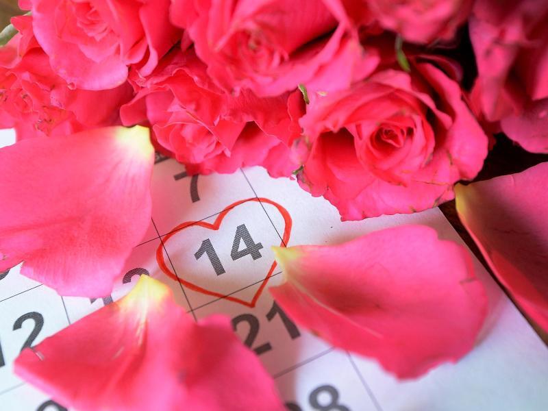 Bild zu Valentinstag