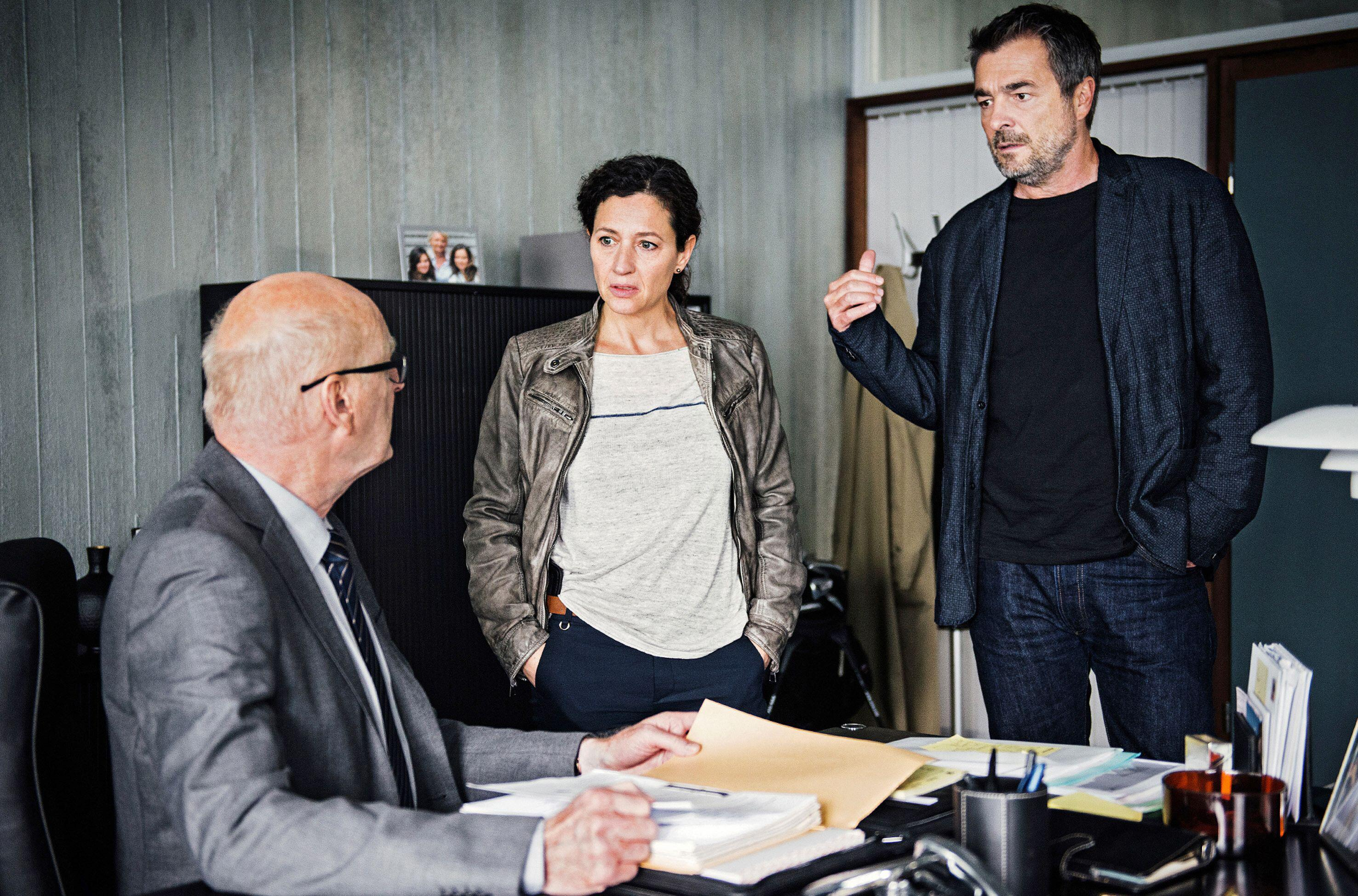 Bild zu Jean-Pierre Cornu, Stefan Gubser, Delia Mayer, Tatort, Luzern