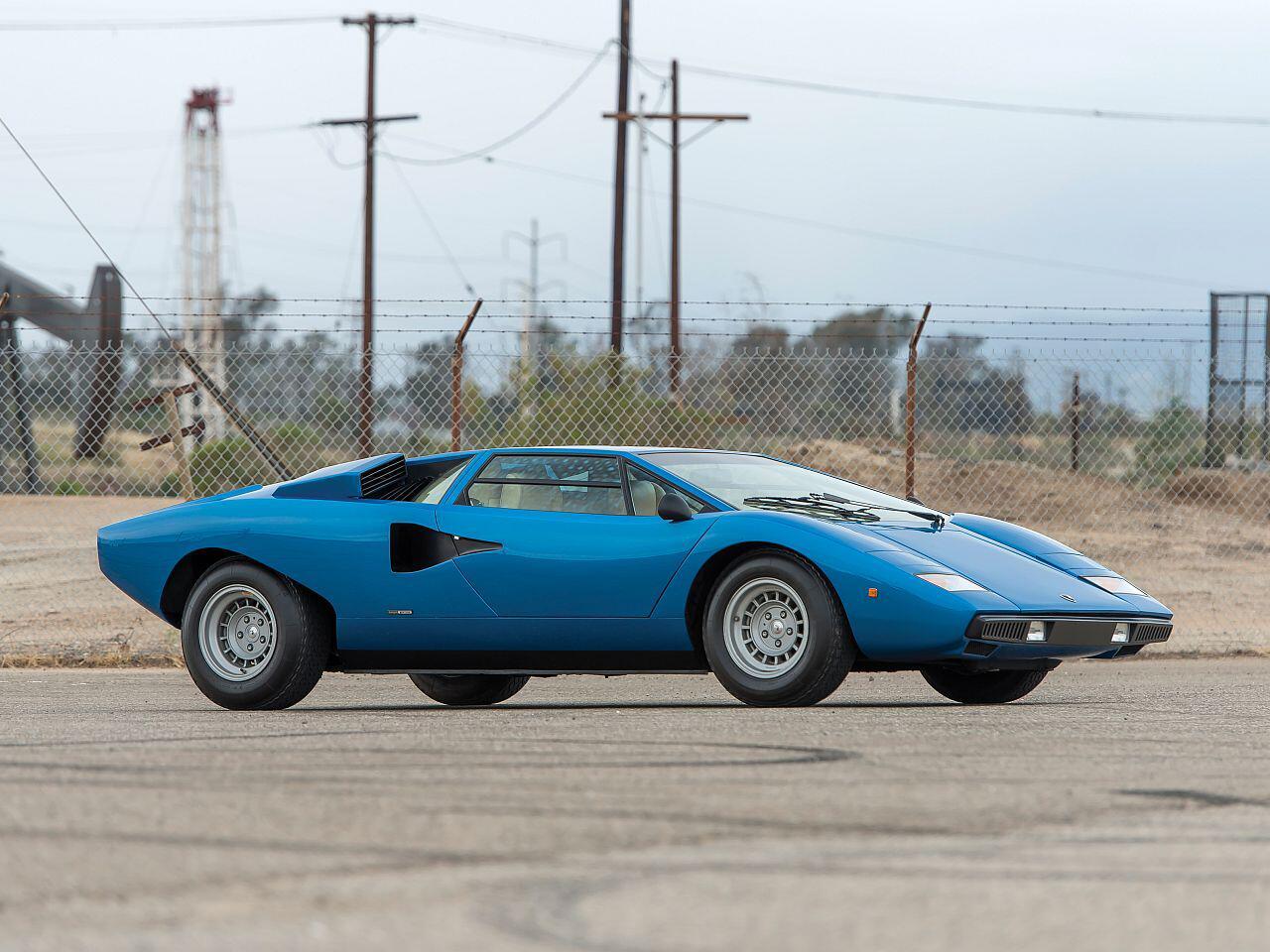 Bild zu 1976 Lamborghini Countach LP 400 Periscopio