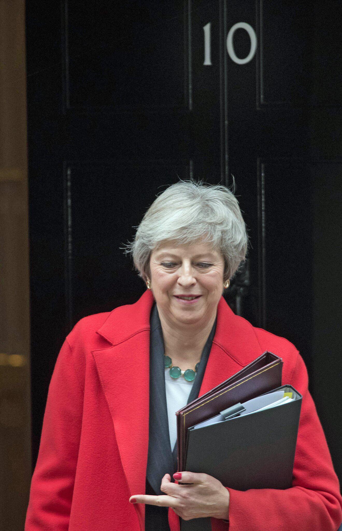 Bild zu Brexit - Premierministerin May