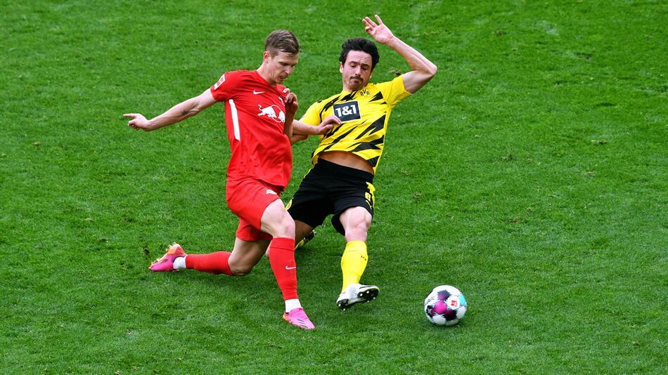 Bereits am Samstag trafen RB Leipzig und der BVB aufeinander.