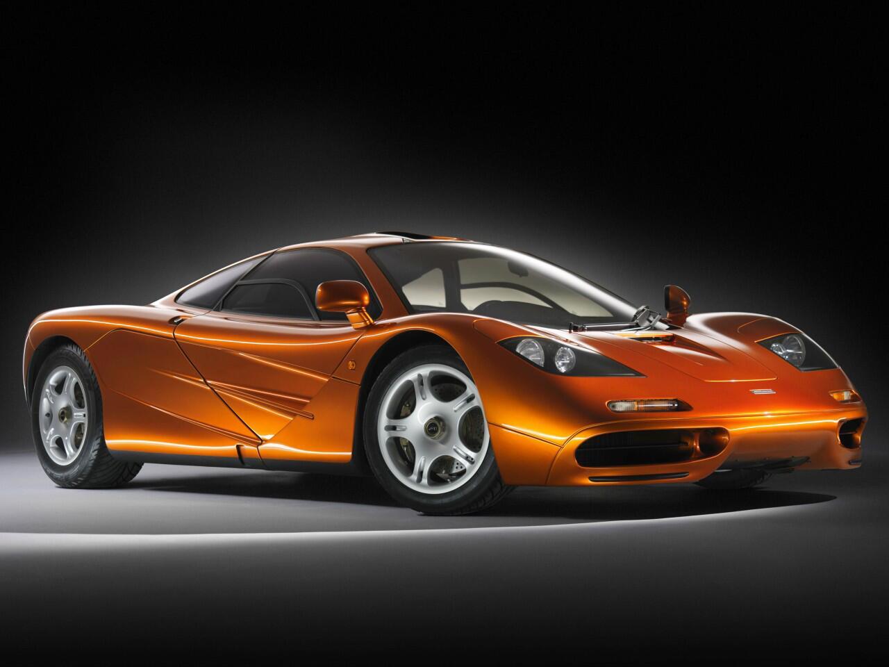 Bild zu Platz 7: Der McLaren F1 zählt mit 391 km/h noch immer zu den schnellsten Autos