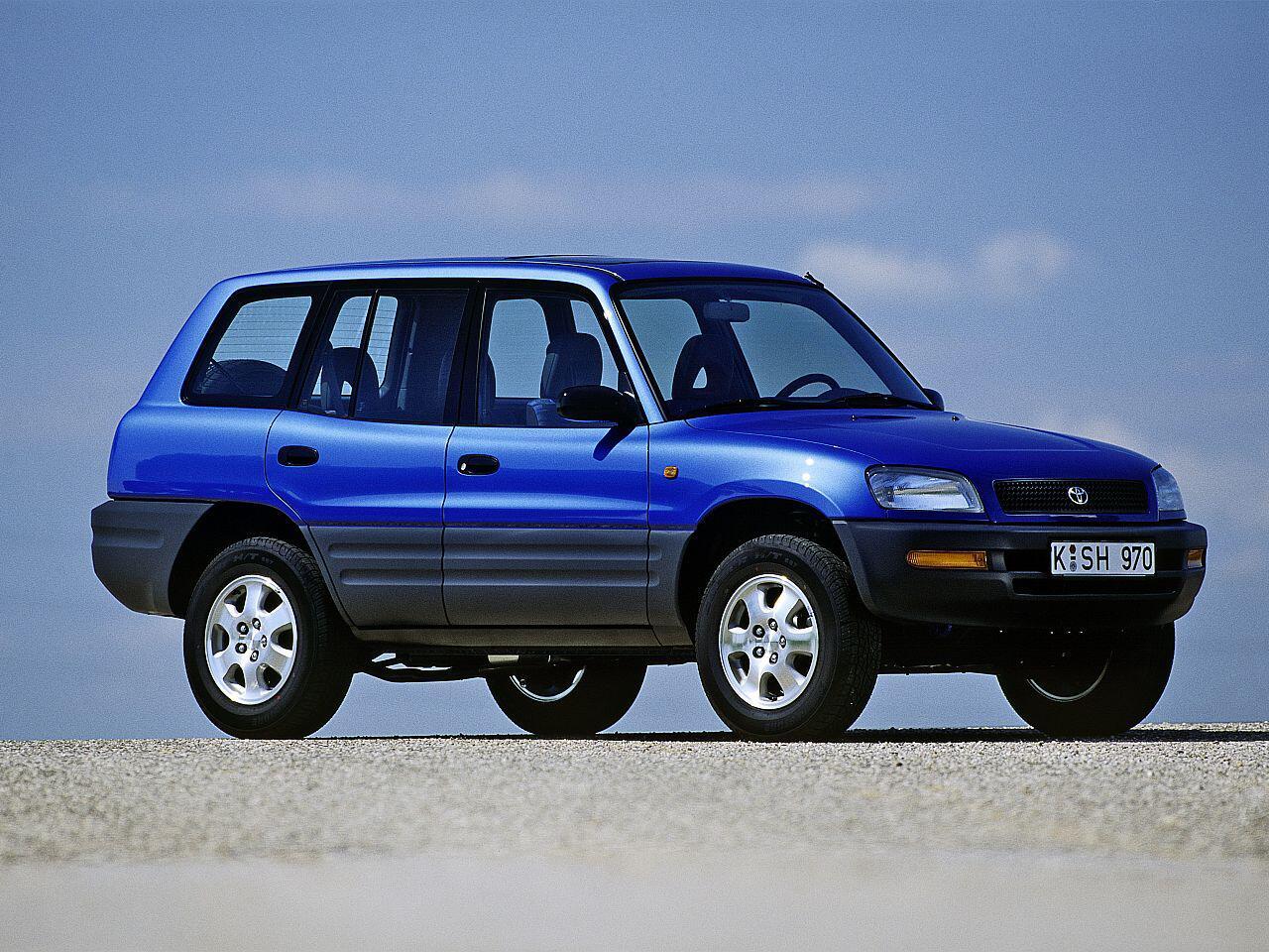 Bild zu 20-jähriges Jubiläum: Der japanische Geländewagen Toyota RAV4