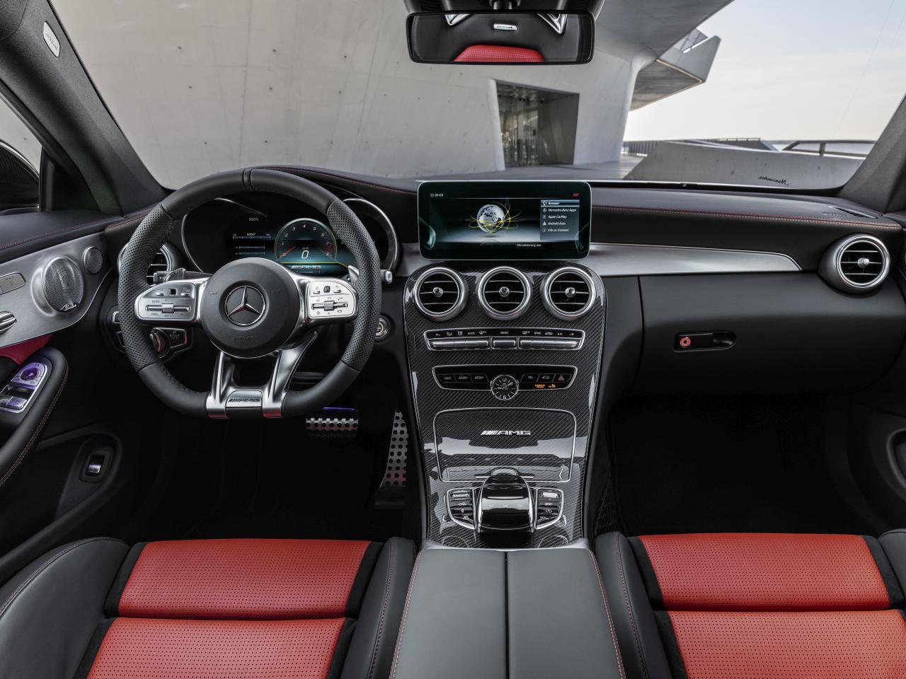 Mercedes-AMG C63 Facelift: Affalterbacher Bestseller nachgeschärft ...