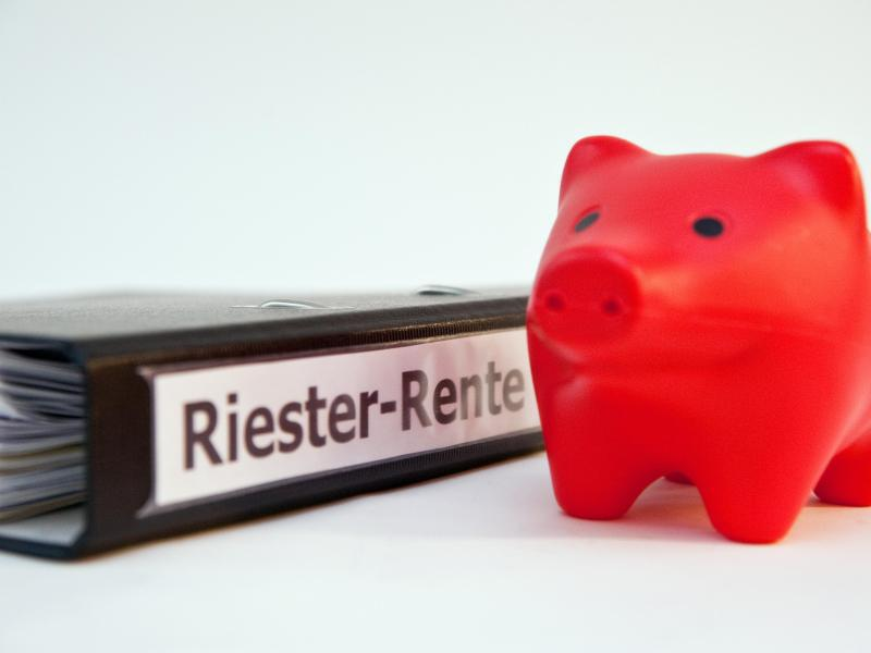 Bild zu Riester-Sparen