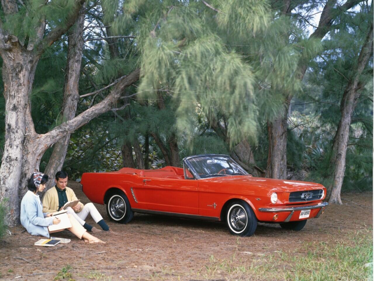 Bild zu Amerikanischer Sportwagen-Kult: Der erste Ford Mustang von 1964