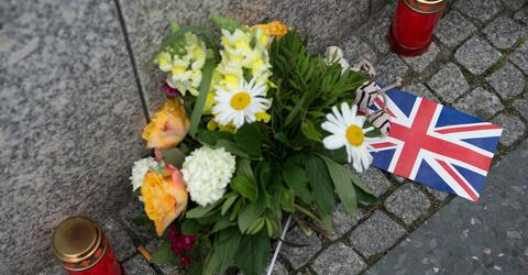 Reaction to Manchester terror attack in Germany