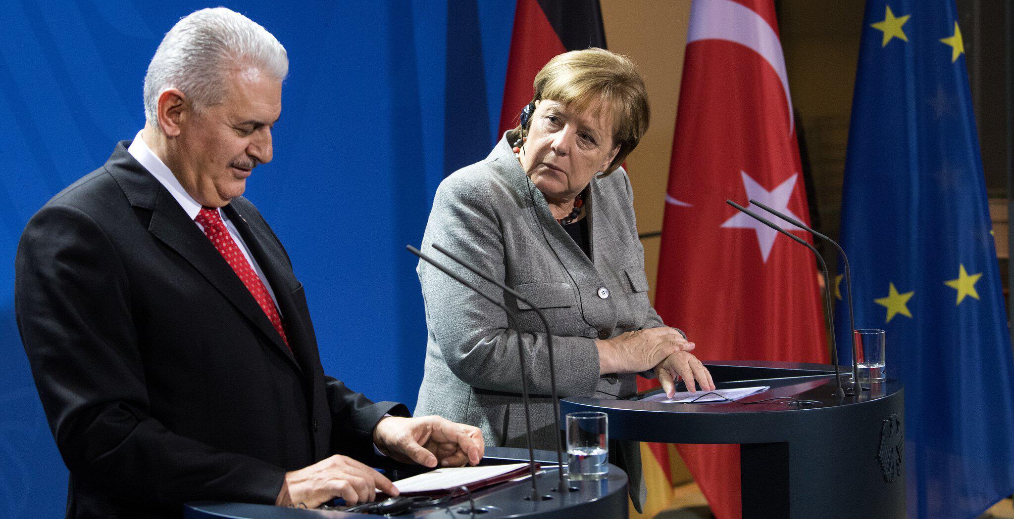 Bild zu Primer ministro turco visita Alemania