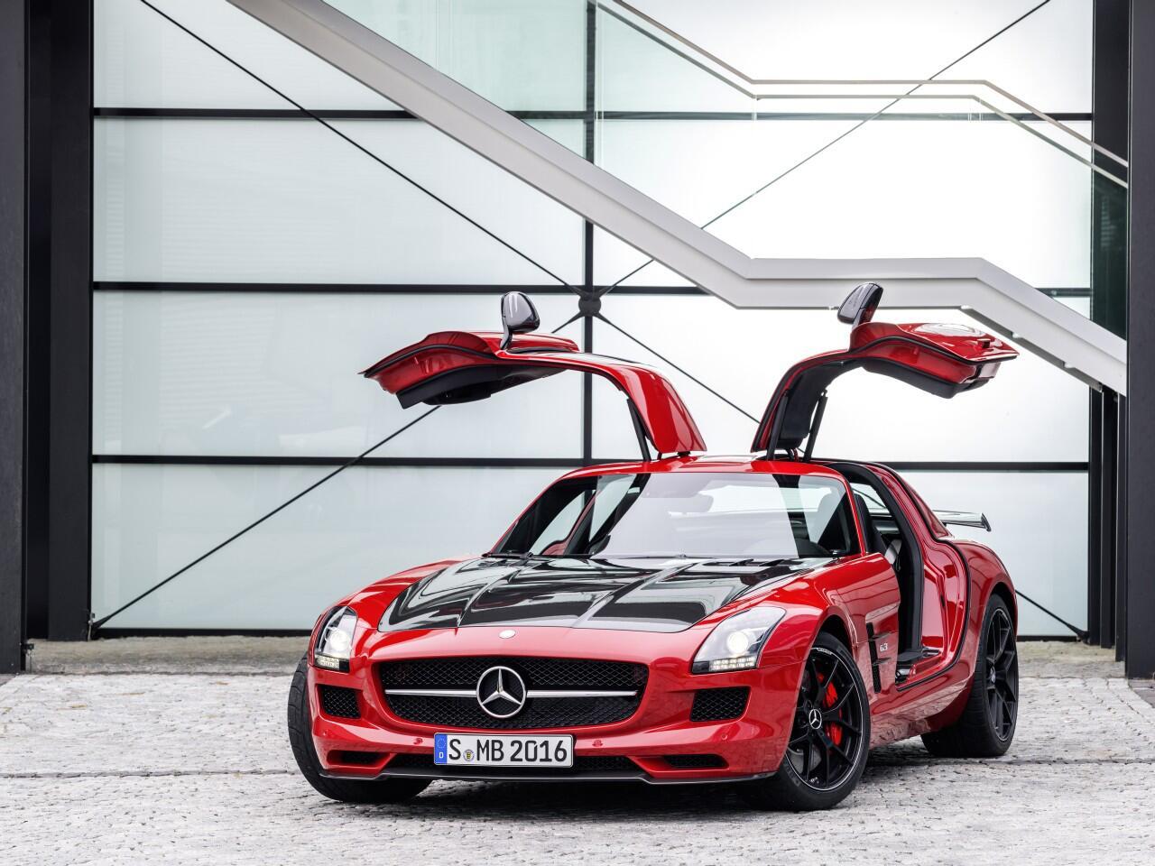 Bild zu Optische Parallelen zeigt die Mercedes SLS AMG GT Final Edition
