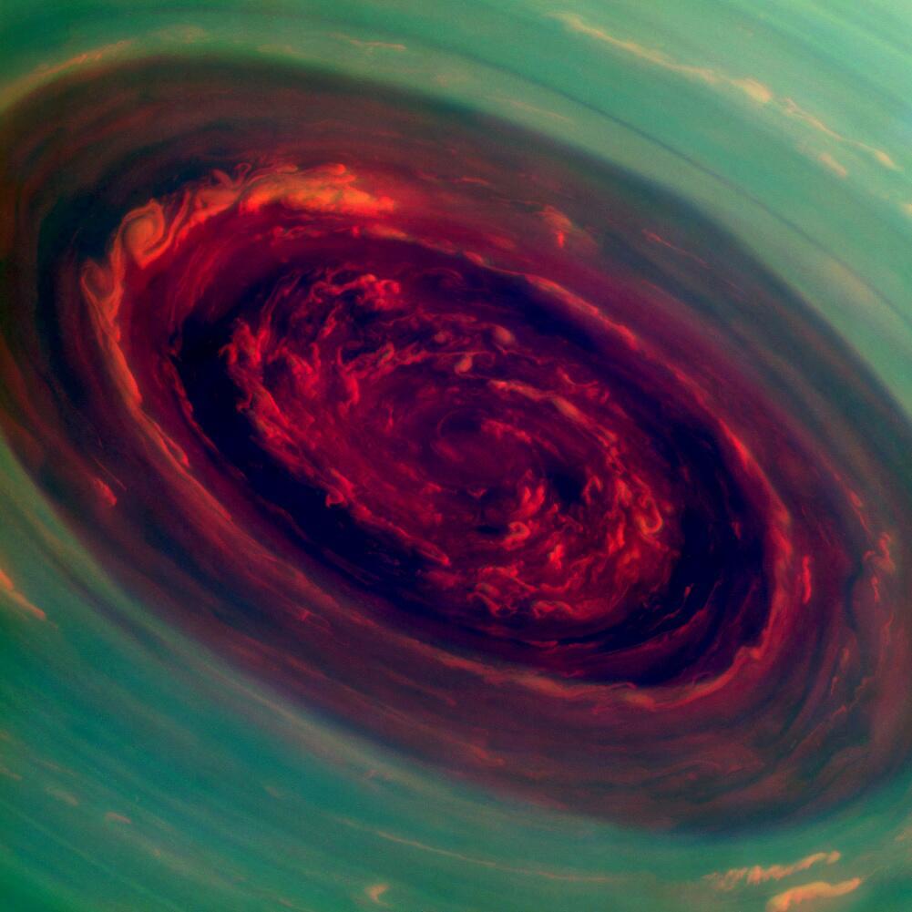 Bild zu Valentinstag, Weltall, NASA, Saturn
