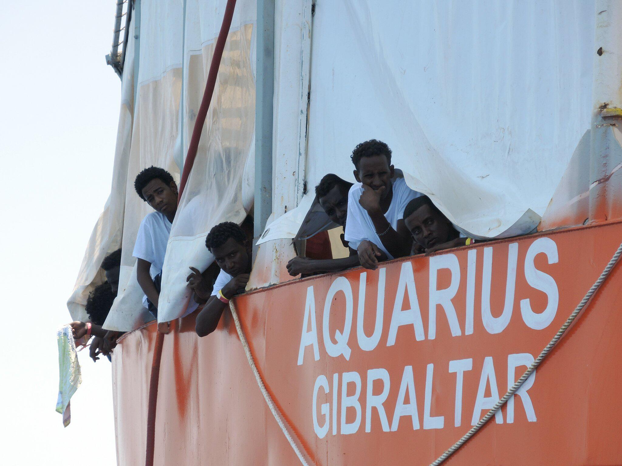 Bild zu Rettungsschiff Aquarius