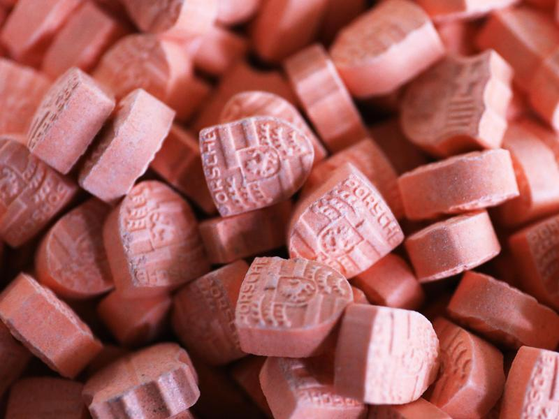 Bild zu Amphetamin-Tabletten