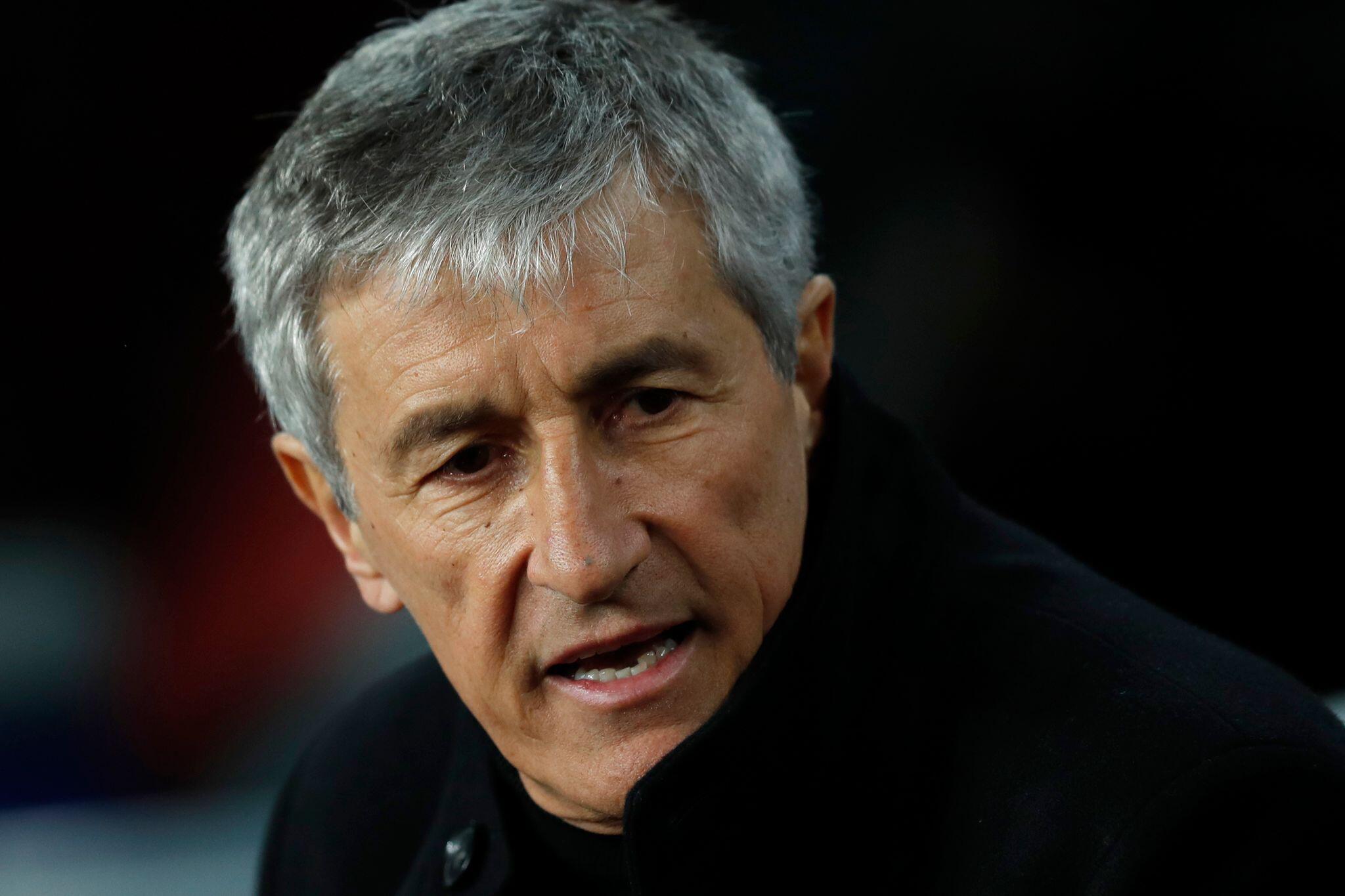 Bild zu Barça trennt sich von Trainer Quique Setién