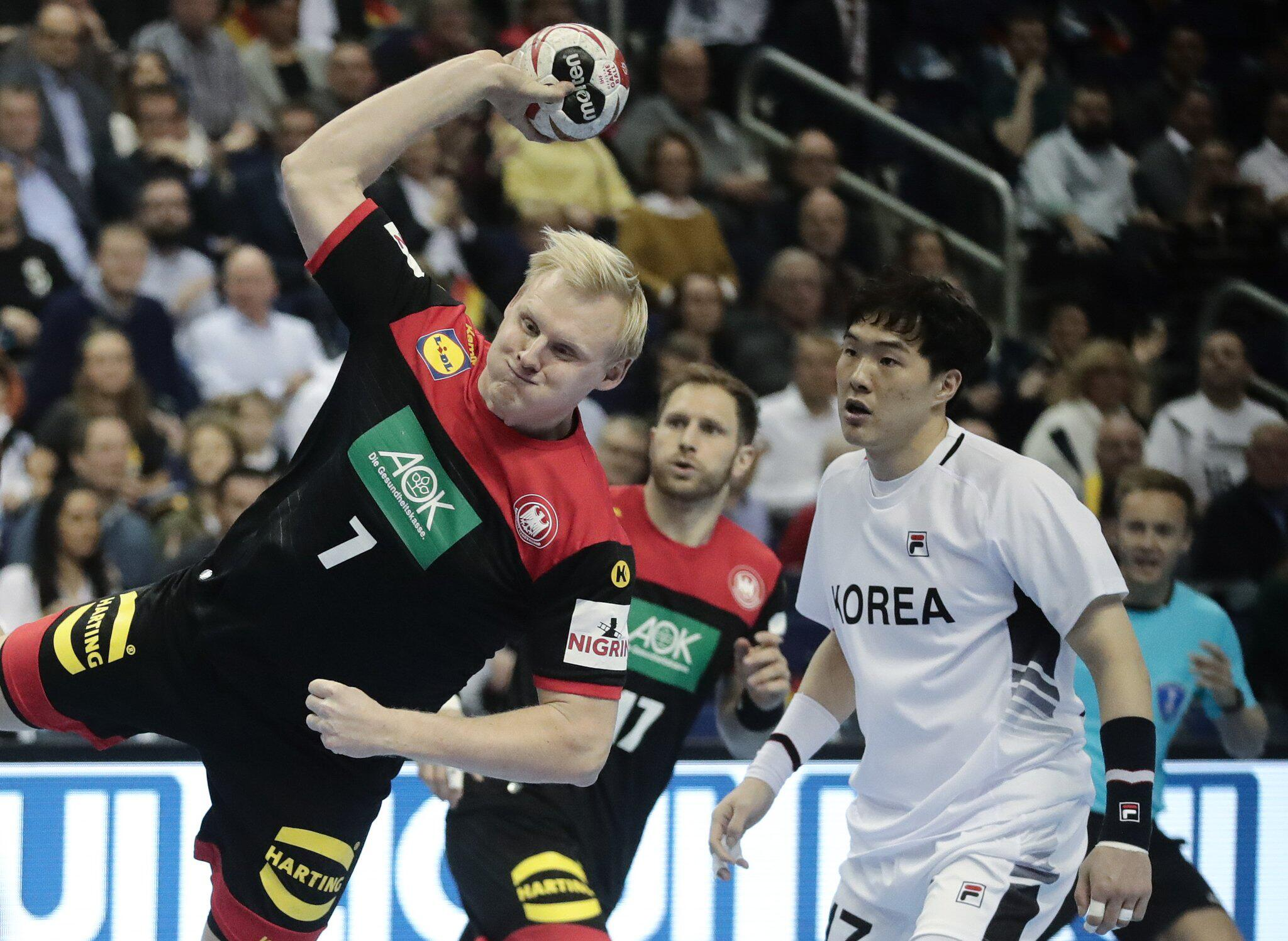 Bild zu Korea v Germany in Handball World Championships