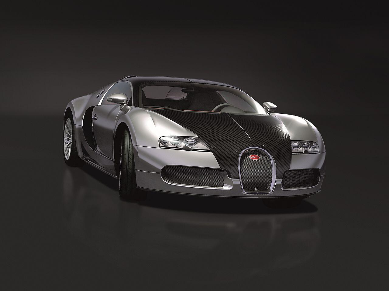 Bild zu Bugatti Veyron Pur Sang: Eine Lackierung sucht man hier vergeblich
