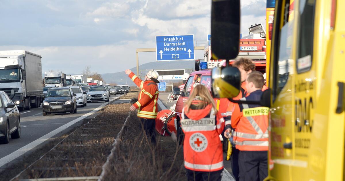 Unfall A5 Heidelberg