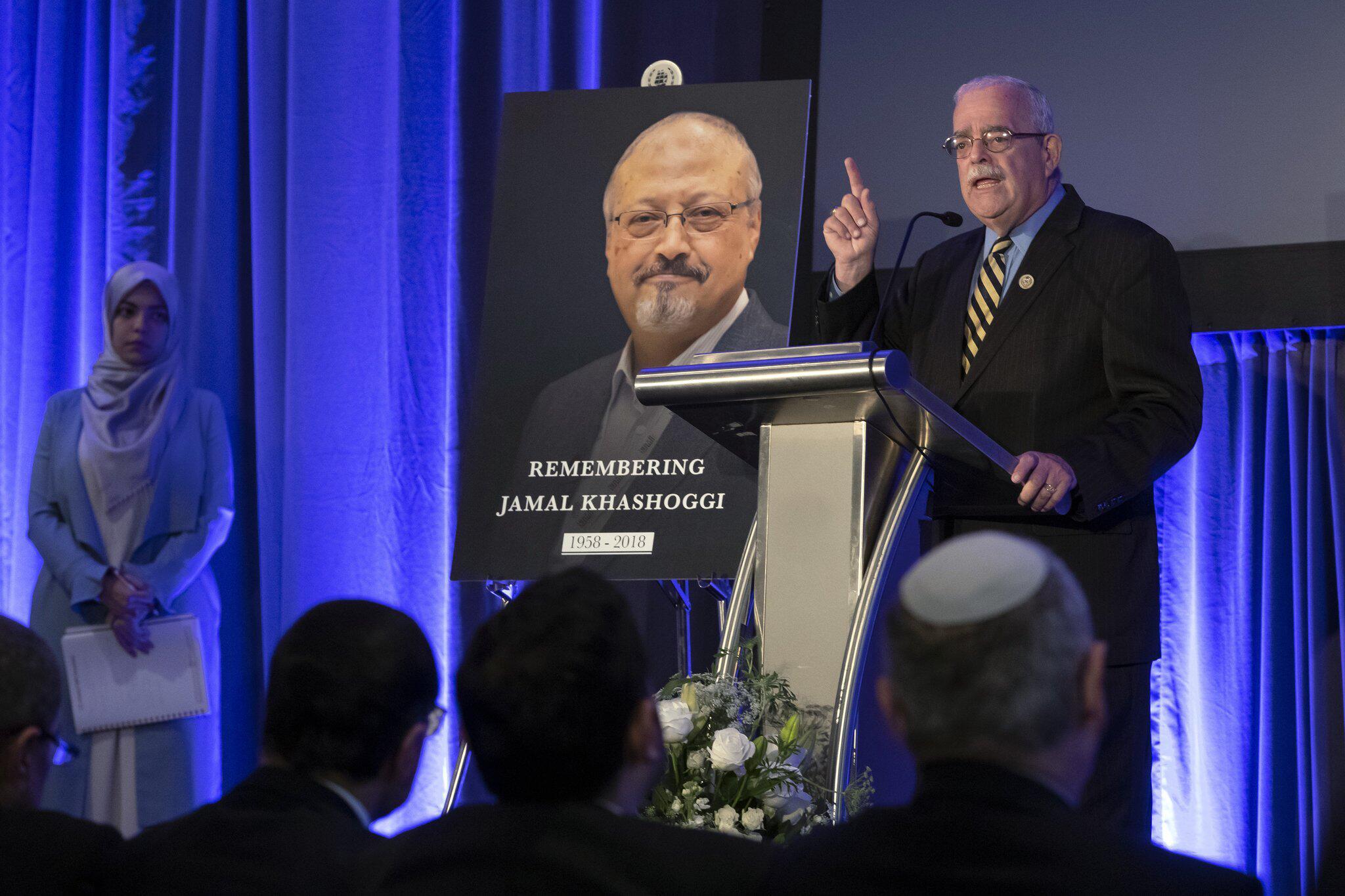 Bild zu Fall Khashogg - Gedenkveranstaltung in Washington