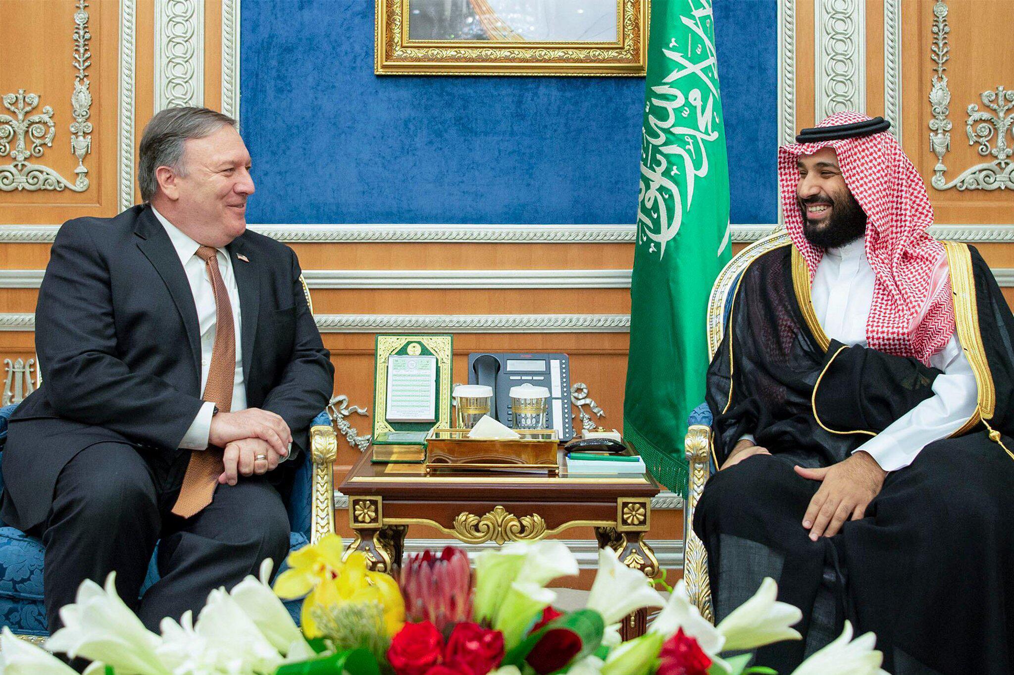 Bild zu Mike Pompeo in Saudi-Arabien