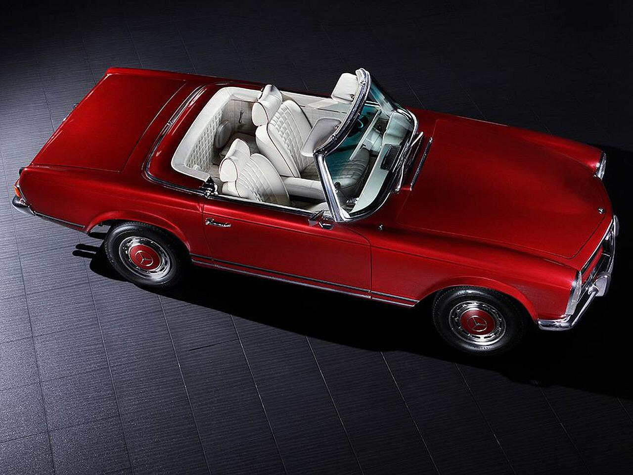 Bild zu Klassiker in neuem Glanz: Restaurierter Mercedes 280 SL