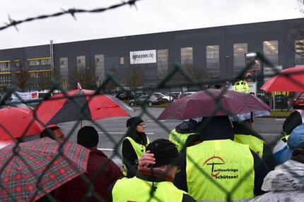 Streik Amazon Bad Hersfeld