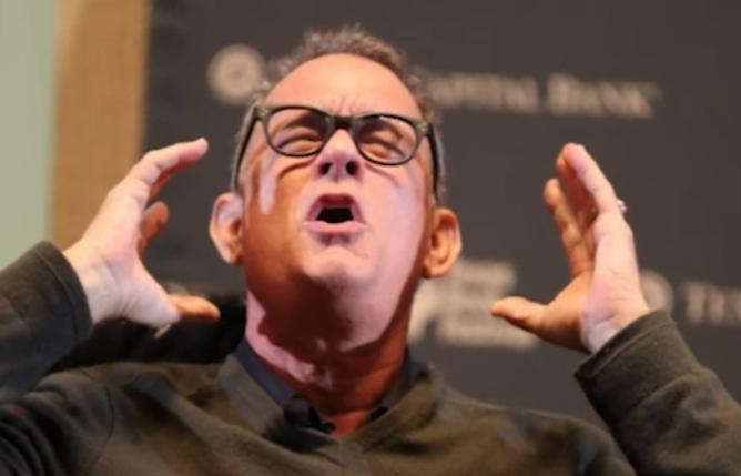 Bild zu Tom Hanks verhilft Paar zum Ja-Wort