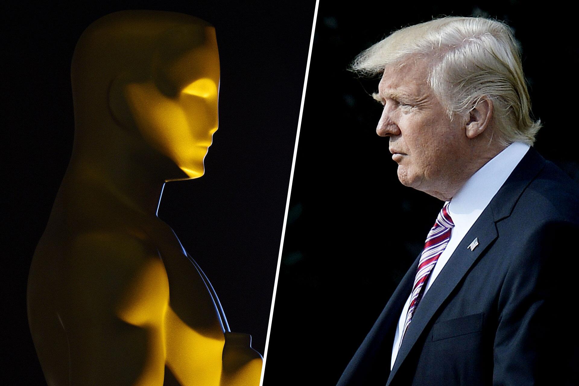 Bild zu Oscars 2017, Donald Trump