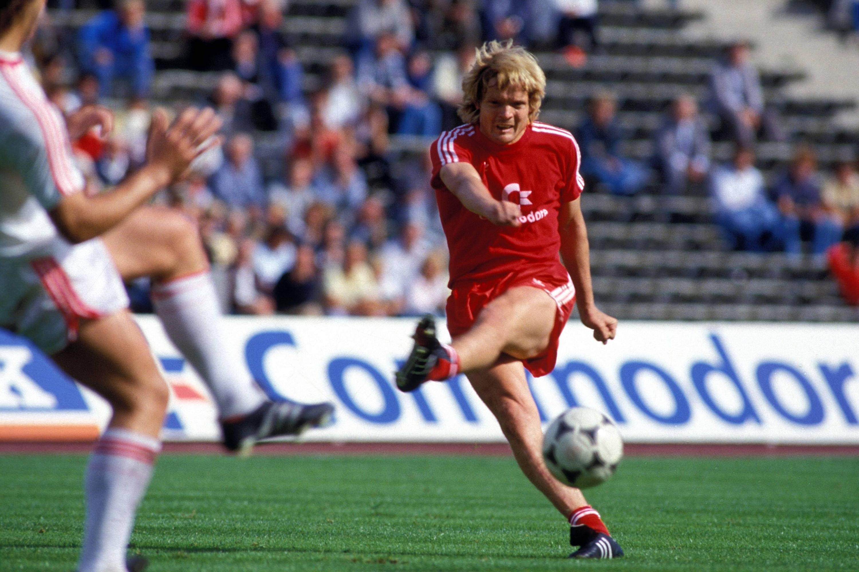 Bild zu Sören Lerby, FC Bayern München, Eintracht Frankfurt, Bundesliga, 1985/86