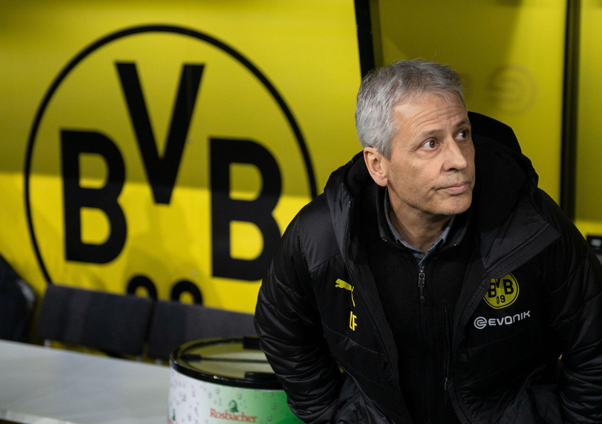 Bild zu Borussia Dortmund: Trainer Lucien Favre