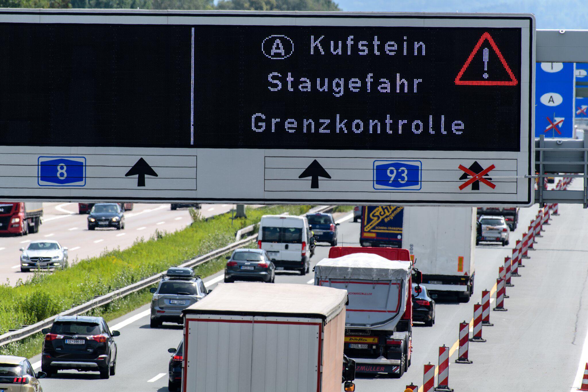 Bild zu Kontrollen bei der Einreise nach Österreich