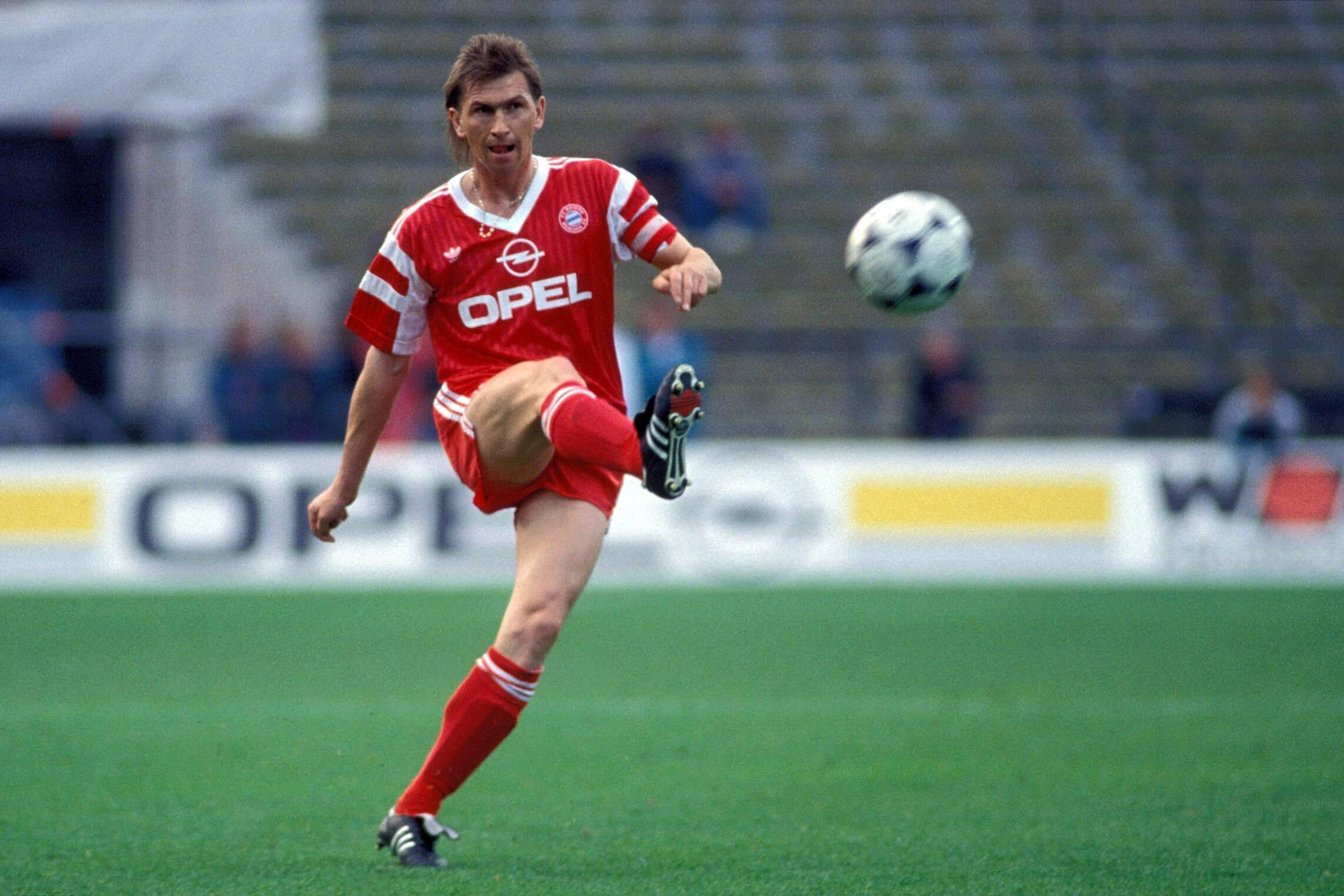 Bild zu Klaus Augenthaler, FC Bayern München, Bundesliga, 1990/91