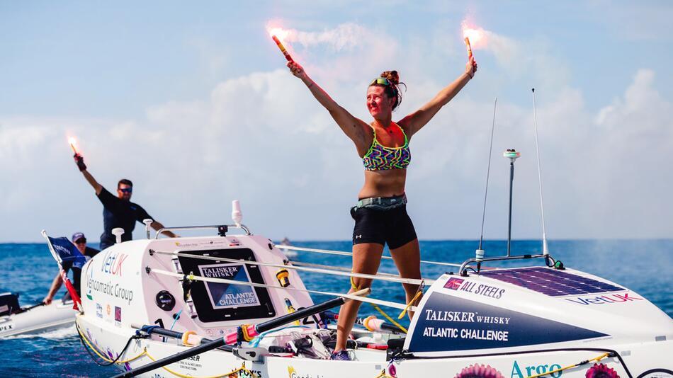 21-jährige Britin überquert als jüngste Frau allein den Atlantik
