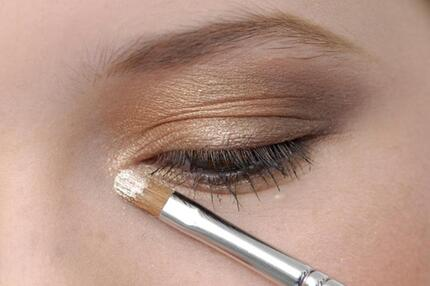 Make-up-Trend Metallic