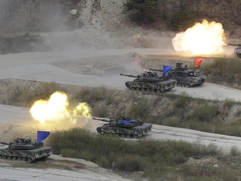 Bild zu Manöver in Südkorea