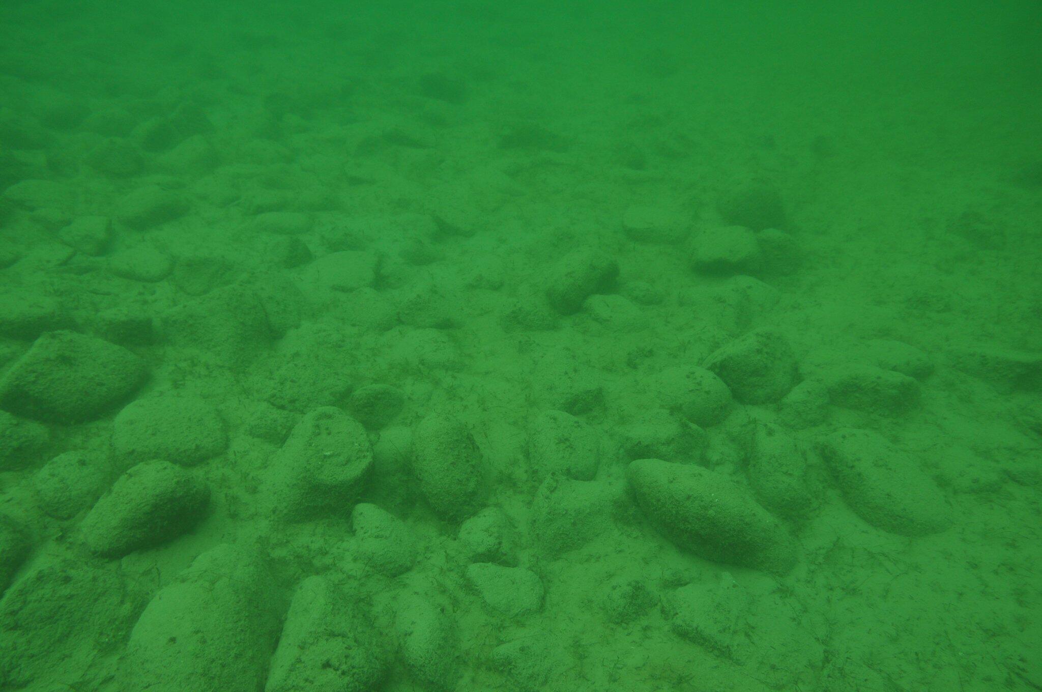 Bild zu Rätselhafte Steinhügel im Bodensee von Menschen errichtet