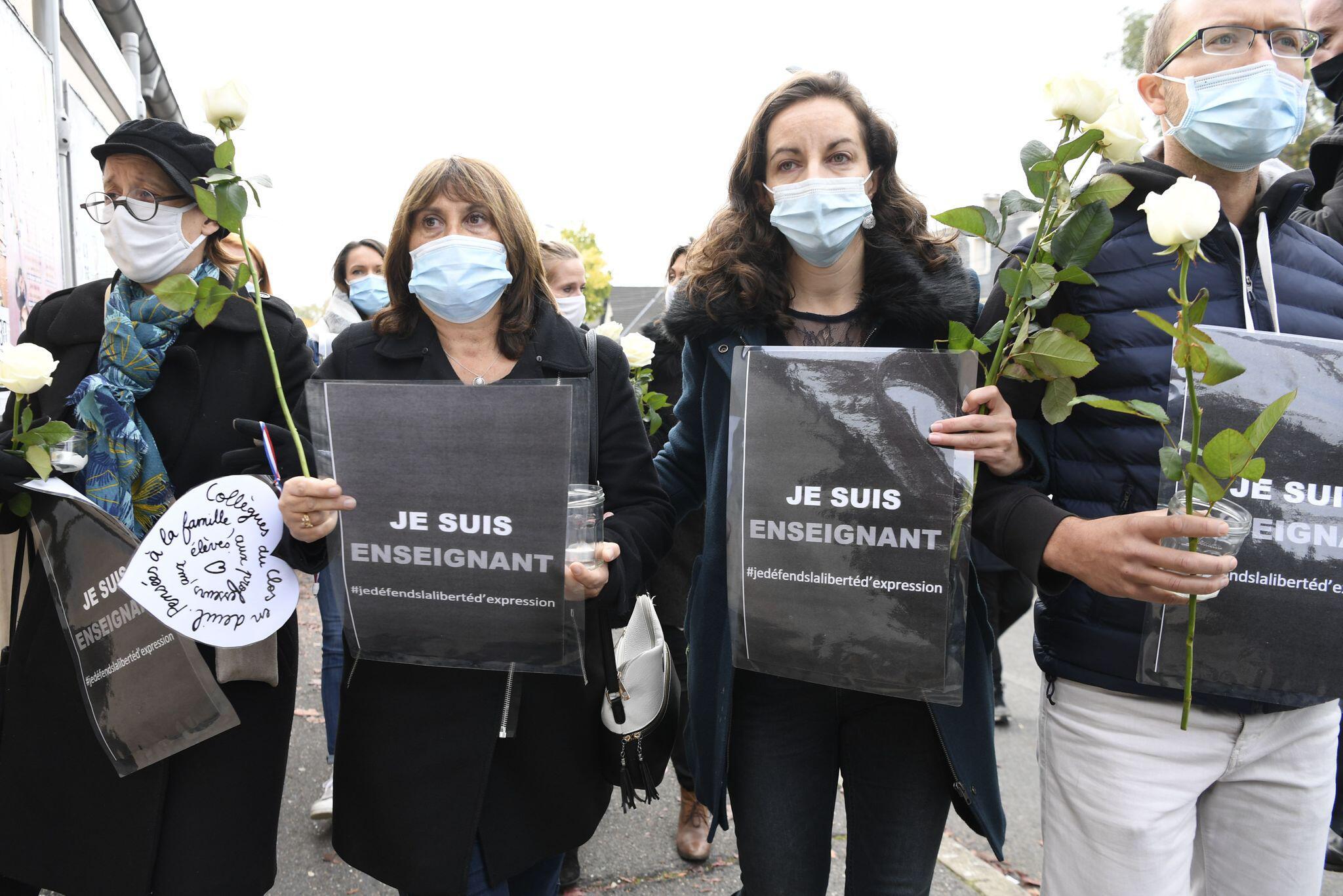 Bild zu Nach mutmaßlichem Terrorakt auf Lehrer bei Paris