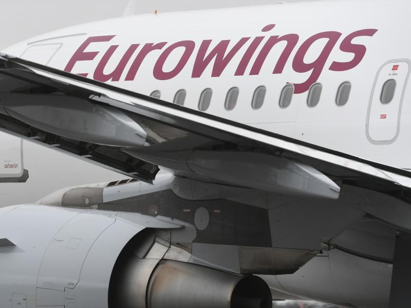 Bild zu Flugzeug von Eurowings
