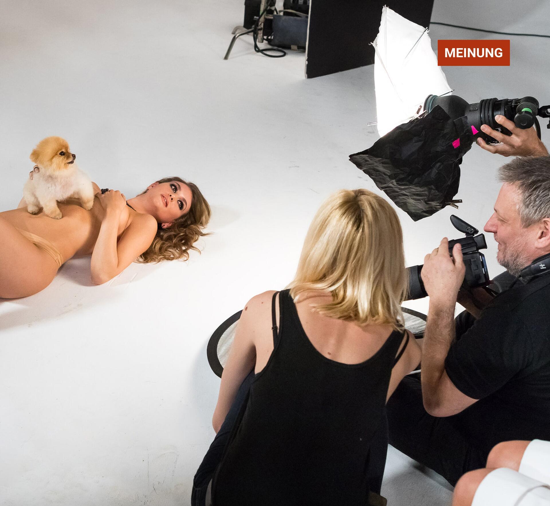 Topmodel nackt shooting