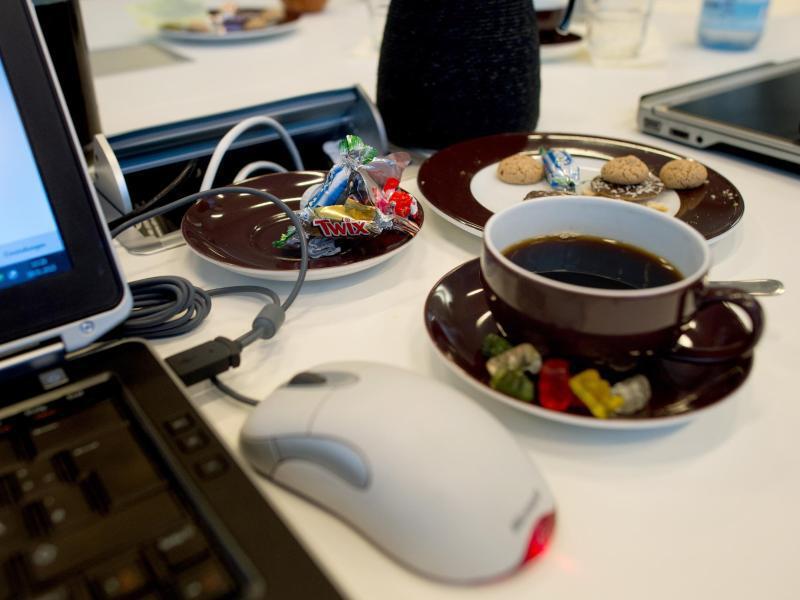Bild zu Snacks im Büro