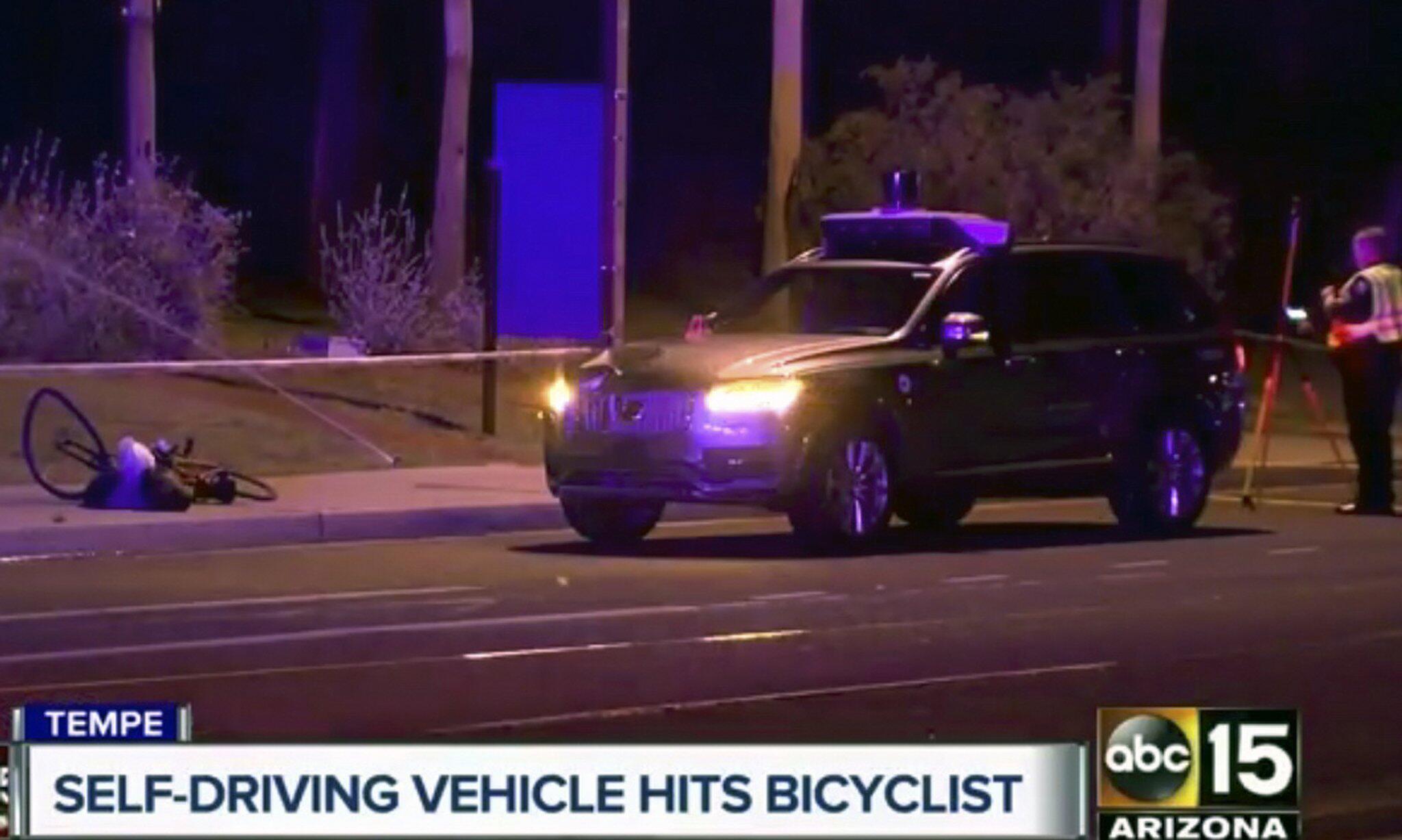 Bild zu Unfall mit selbstfahrendem Auto