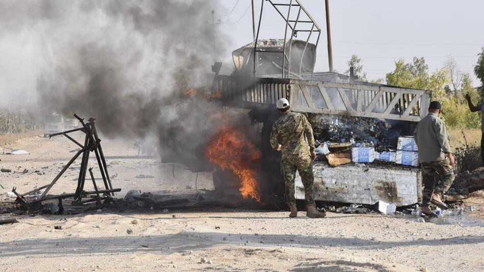 Möglicher Drohnenangriff im Irak
