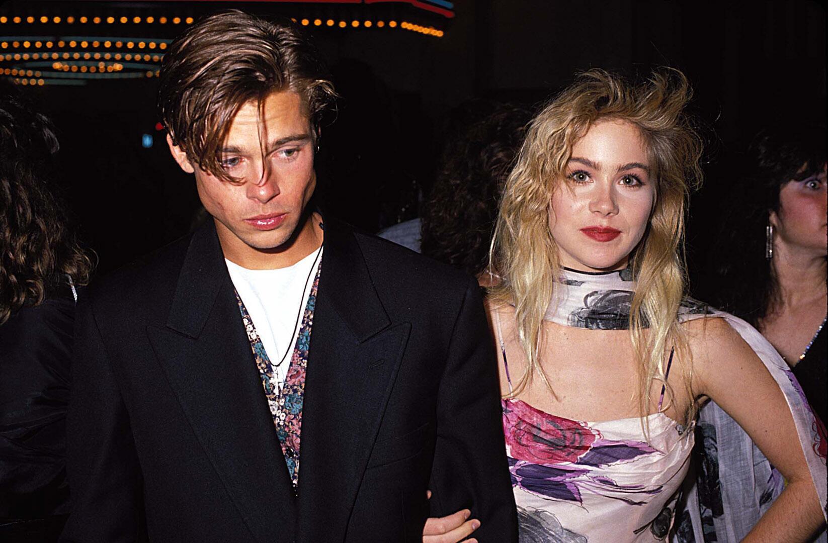Bild zu Brad Pitt, Freundin, Christina Applegate